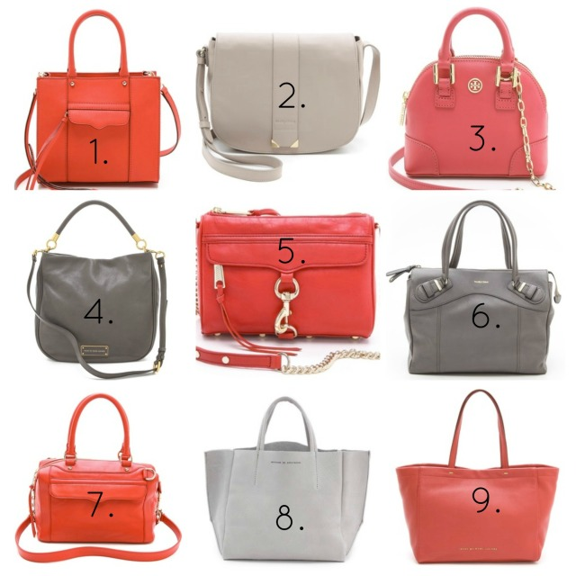 Scarlet and Grey Bags | girl about columbus